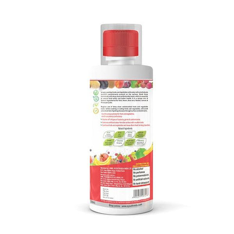 Deep Clean Anti Microbial Fruits & Vegetable Wash (500 ml Each) Pack of 2