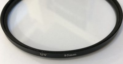 Focussing with cheap UV filters