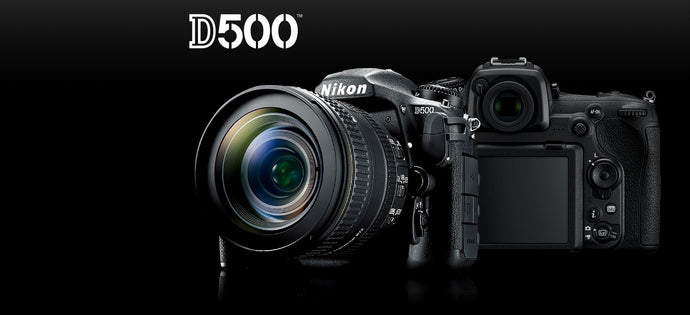 Recent additions to the Canon and Nikon DSLR ranges