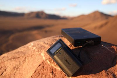 Nitecore Battery Chargers in the Sahara