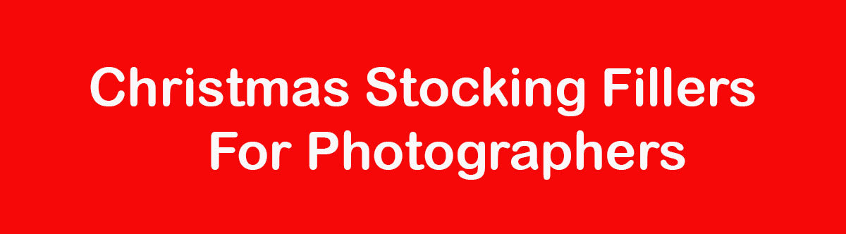 Christmas Stocking Fillers for Photographers