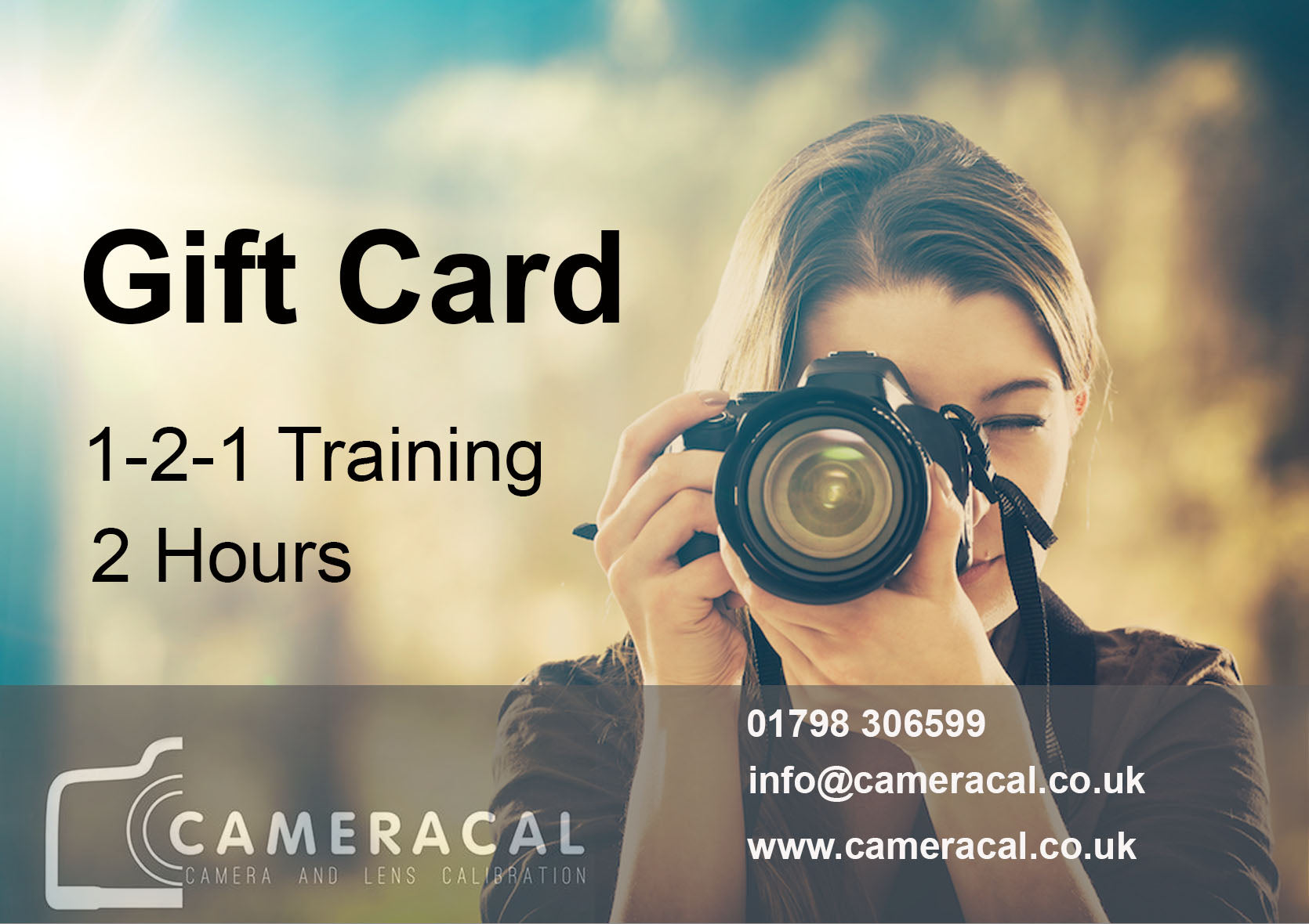 1-2-1 Training  Gift Card