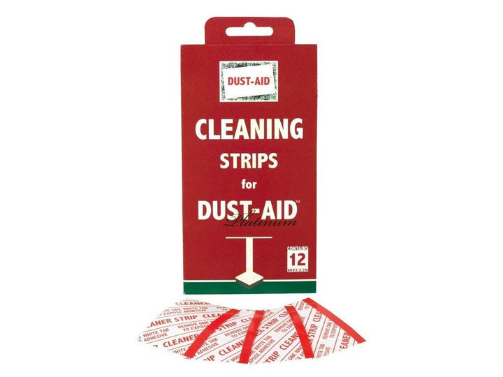 Dust aid cleaning strips