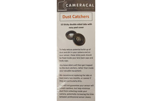 Dust Catchers - Pack of 10 For Body Caps and Rear Lens Caps