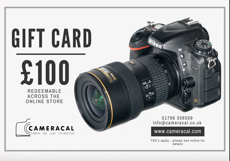 Cameracal Gift Card