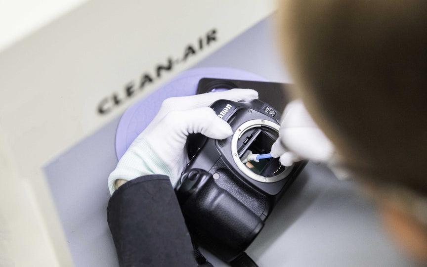 Camera Sensor Cleaning - with courier service
