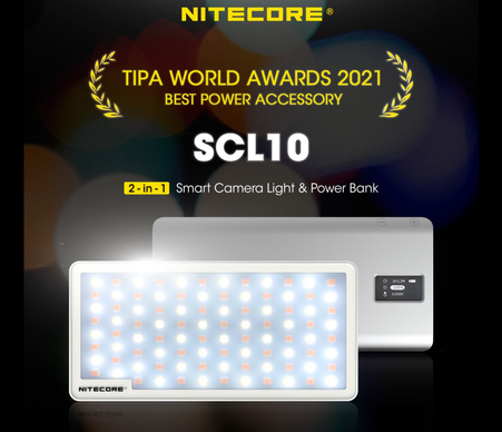 SCL10 Smart Camera Light and Power Bank