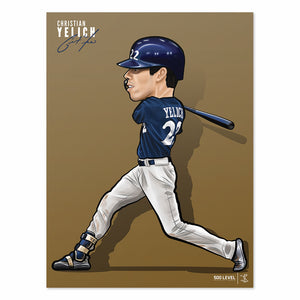 Christian Yelich Poster | 500 LEVEL