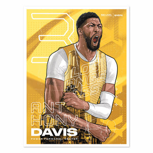 Anthony Davis Poster | 500 LEVEL