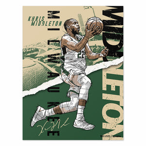 Khris Middleton Poster | 500 LEVEL