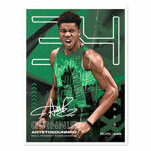 Giannis Antetokounmpo Poster | 500 LEVEL