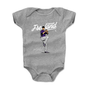 Kyle Freeland Kids Baby Onesie | 500 LEVEL