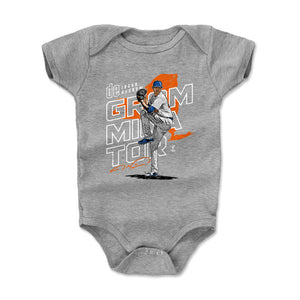 Jacob deGrom Kids Baby Onesie | 500 LEVEL