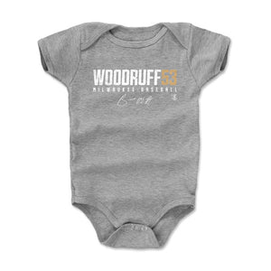 Brandon Woodruff Kids Baby Onesie | 500 LEVEL