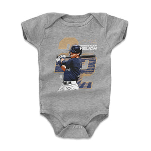 Christian Yelich Kids Baby Onesie | 500 LEVEL