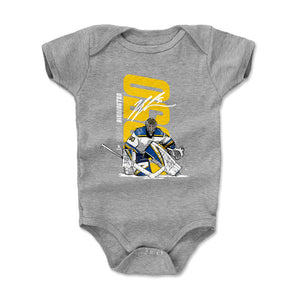 Jordan Binnington Kids Baby Onesie | 500 LEVEL