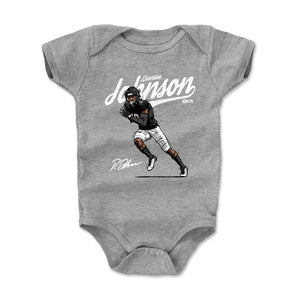 Diontae Johnson Kids Baby Onesie | 500 LEVEL