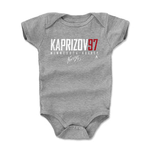 Kirill Kaprizov Kids Baby Onesie | 500 LEVEL
