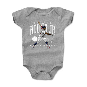 Ronald Acuna Jr. Kids Baby Onesie | 500 LEVEL