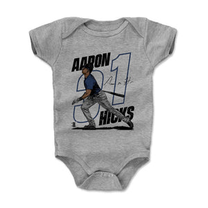 Aaron Hicks Kids Baby Onesie | 500 LEVEL