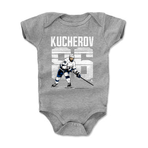 Nikita Kucherov Kids Baby Onesie | 500 LEVEL