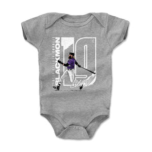Charlie Blackmon Kids Baby Onesie | 500 LEVEL