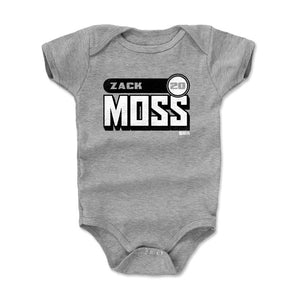 Zack Moss Kids Baby Onesie | 500 LEVEL