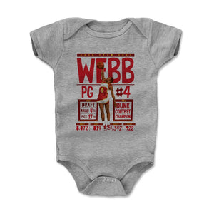 Spud Webb Kids Baby Onesie | 500 LEVEL