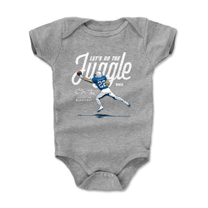 Christian McCaffrey Kids Baby Onesie | 500 LEVEL
