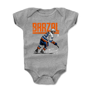 Mathew Barzal Kids Baby Onesie | 500 LEVEL