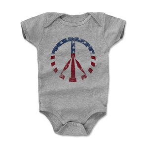 Peace Sign Kids Baby Onesie | 500 LEVEL