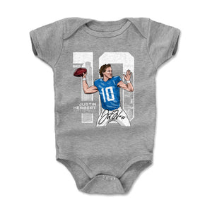 Justin Herbert Kids Baby Onesie | 500 LEVEL