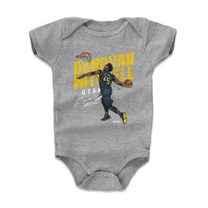 Donovan Mitchell Kids Baby Onesie | 500 LEVEL