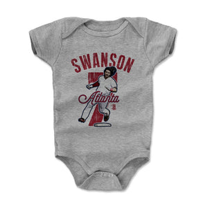 Dansby Swanson Kids Baby Onesie | 500 LEVEL