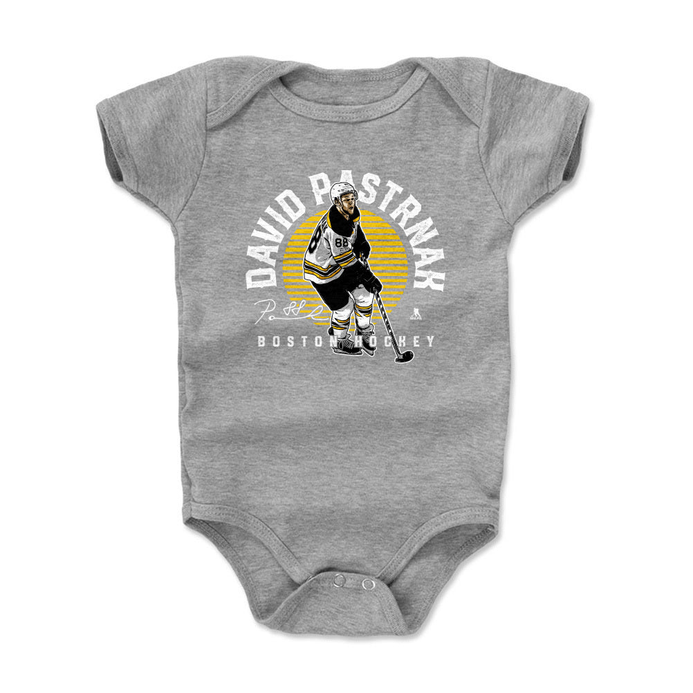 David Pastrnak Kids Baby Onesie | 500 LEVEL