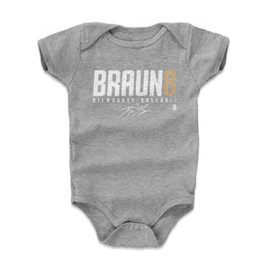 Ryan Braun Kids Baby Onesie | 500 LEVEL