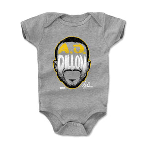 A.J. Dillon Kids Baby Onesie | 500 LEVEL