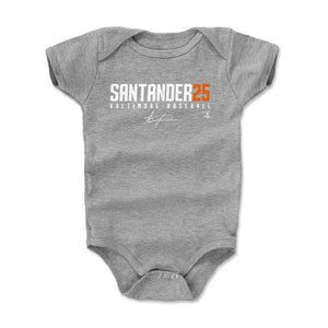Anthony Santander Kids Baby Onesie | 500 LEVEL