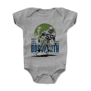 Brian Bosworth Kids Baby Onesie | 500 LEVEL