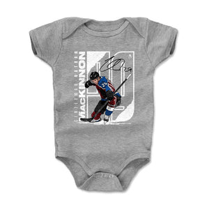 Nathan MacKinnon Kids Baby Onesie | 500 LEVEL