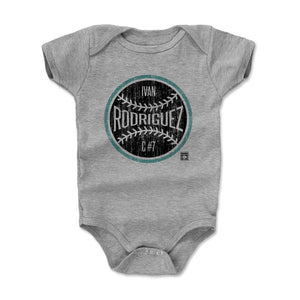 Ivan Rodriguez Kids Baby Onesie | 500 LEVEL