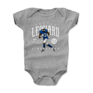Darius Leonard Kids Baby Onesie | 500 LEVEL