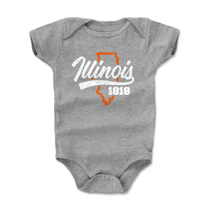 Illinois Kids Baby Onesie | 500 LEVEL