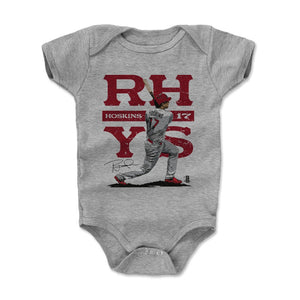 Rhys Hoskins Kids Baby Onesie | 500 LEVEL
