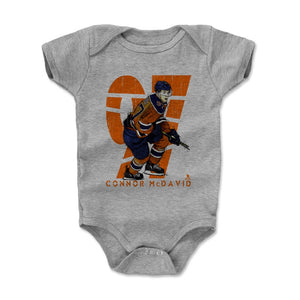Connor McDavid Kids Baby Onesie | 500 LEVEL