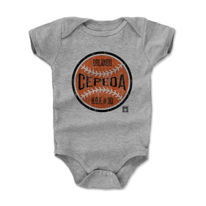 Orlando Cepeda Kids Baby Onesie | 500 LEVEL