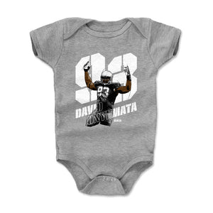 David Onyemata Kids Baby Onesie | 500 LEVEL