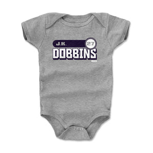 J.K. Dobbins Kids Baby Onesie | 500 LEVEL
