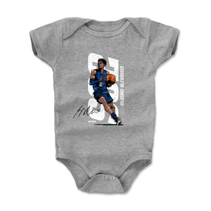Shai Gilgeous-Alexander Kids Baby Onesie | 500 LEVEL