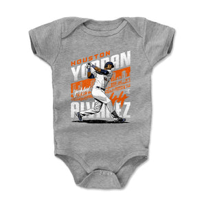 Yordan Alvarez Kids Baby Onesie | 500 LEVEL